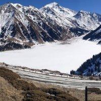 Необыкновенная красота Большого Алматинского озера пленит вас. :: Anna Gornostayeva