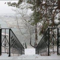 Снегопад над Чусовой :: Мария Кухта