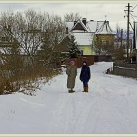 Хорошо зимой в деревне :: Рамиль Хамзин