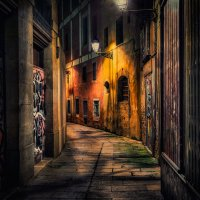 Вечерняя Барселона :: Анна Корсакова