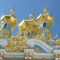 Воскресенская церковь Екатерининского дворца :: Елена Павлова (Смолова)