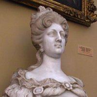 Не известный скульптор 18 век   Французская королева Мария Лещинская Супруга Людовика XV :: НаталиЯ ***