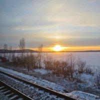 из поезда,который мчится на север :: Елена