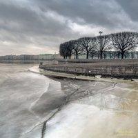 Стрелка в феврале :: Valeriy Piterskiy