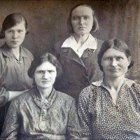 Женщины. 1929 год :: Нина Корешкова