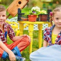 Во саду ли, в огороде :: Аминат Спасская