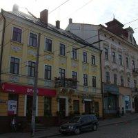 Жилые  дома  в  Черновцах :: Андрей  Васильевич Коляскин