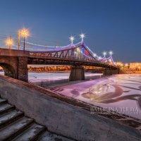 Новогодний Староволжский мост в Твери :: Юлия Батурина