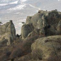 Причудливые скалы Южной Демерджи :: Наталья Федорова