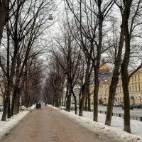 Конногвардейский бульвар :: Юрий Тихонов
