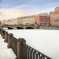Аничков мост на Фонтанке :: Юлия Батурина