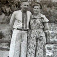 Супруги. 1953 год :: Нина Корешкова