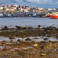 Мурманск. О том как, и где, отдыхают арктические ледоколы. :: kolin
