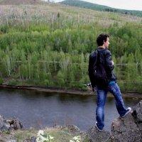 Скалы на берегу сибирской реки Ингоды :: Анна