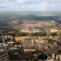 Cвысока(пролетая)...Турция, Стамбул, Ataturk Olimpiyat Stadyumu... :: Александр Вивчарик