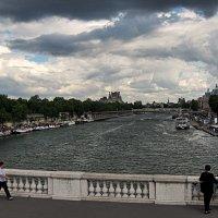 поездка по Парижу :: Александр Корчемный