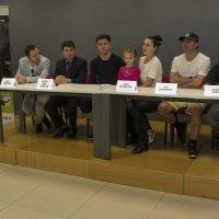 Золотой лёд Израиля-пресс конференция :: Shmual Hava Retro
