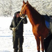 Я люблю свою лошадку. :: nadyasilyuk Вознюк