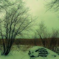 Скамья на камне :: Вячеслав Аржанухин