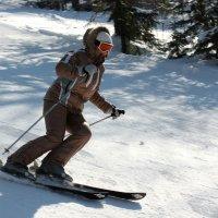 На лыжах с гор :: Дмитрий Арсеньев