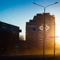 Утро в городе :: Anna Laplan
