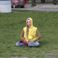 Медитация на городской клумбе-2. :: Руслан Грицунь