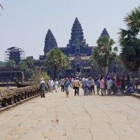 Angkor Wat западные ворота :: Анатолий Малевский