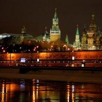 Вид на Кремль из Замоскворечья :: М. Дерксен Derksen