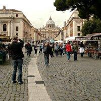 Улица Лунготевере Ватикано.Рим :: Galina Belugina