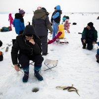 На рыбалке с детьми :: Ilona An