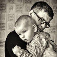 Отец и сын :: Юрий Аброськин