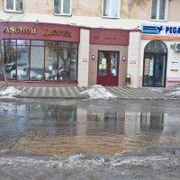 Весенний потоп на Вятке! :: Андрей Синицын