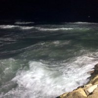 Море волнуется. Ночь :: Герович Лилия