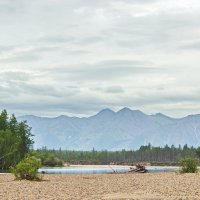 Вид на Северомуйский хребет :: val-isaew2010 Валерий Исаев