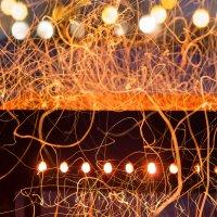 Огонь - шашлычки :: Евгения Кец
