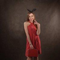 Маленькое красное платье в горошек :: Elena Kuznetsova