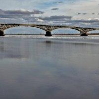 Саратов. Автодорожный мост через волгу :: Андрей Ситников