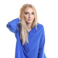 Девушка фотомодель в платье-тунике Credo, каталог для интернет-магазина :: Николай Мордвов