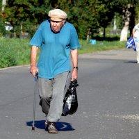 Старик и тень 1/3 :: Асылбек Айманов