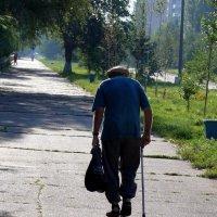 Старик и тень 3/3 :: Асылбек Айманов