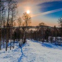 Мороз и солнце :: Евгений Небензя