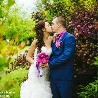 Лиловая свадьба. :: Анна Кувыкина