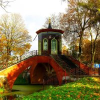Крестовый мост осенью :: Сергей