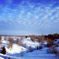 Март в окрестностях Усть-Выми :: Николай Туркин