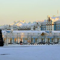 Екатерининский дворей со стороны Треугольной площади :: Сергей