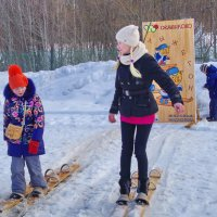 Лыжные старты :: Валерий Талашов