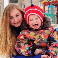 С малышкой :: Елена Лебедева
