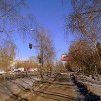Весна в городе . :: Мила Бовкун