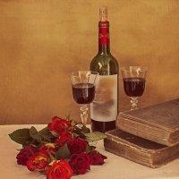 Натюрморт с розами :: Надежда