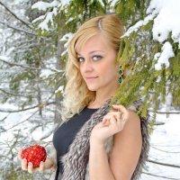 в зимнем лесу :: Андрей Дружинин